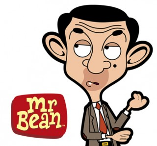 mr bean cartoon: